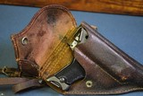 JAPANESE WW2 TYPE 94 NAMBU PISTOL…. JUNE, 1944 PRODUCTION……. FULL RIG……2 MATCHING MAGS & HOLSTER, SHOULDER STRAP AND ROD! - 3 of 15