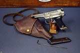 japanese ww2 type 94 nambu pistol . june, 1944 production. full rig2 matching mags & holster, shoulder strap and rod!
