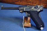 "VERY RARE PORTUGUESE CONTRACT….. MAUSER BANNER MODEL 1935/06 ""GNR"" LUGER PISTOL…..VERY SHARP!!!"