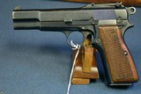 PRE WAR BELGIUM ARMY ISSUED TYPE 1 FN MODEL 1935 HI POWER PISTOL…..THE ORIGINAL HI POWER!… VERY SHARP!