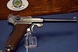EXCEPTIONAL AND IMPORTANT ABERCROMBIE & FITCH 1921 DWM SWISS NAVY LUGER…….9m/m CALIBER TOO!!!