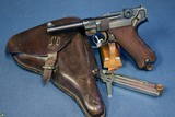 "SCARCE DWM 1921 ""SAFE & LOADED"" COMMERCIAL 7.65 LUGER……..MINT STUNNING FULL RIG!"
