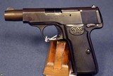 WALTHER MODEL 4 PISTOL…..LATE PRODUCTION 4TH VARIANT…..VERY SHARP
