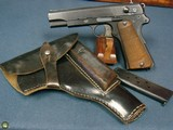 ULTRA RARE END OF WAR ASSEMBLED ViZ35 RADOM PISTOL……….MINT FULL RIG!