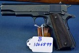 IMPORTANT & UNIQUE PAIR OF CONSECUTIVELY NUMBERED UNION SWITCH AND SIGNAL 1911A1 PISTOLS…..JUNE, 1943 PRODUCTION…..BOTH VERY SHARP!!! - 15 of 25