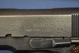IMPORTANT & UNIQUE PAIR OF CONSECUTIVELY NUMBERED UNION SWITCH AND SIGNAL 1911A1 PISTOLS…..JUNE, 1943 PRODUCTION…..BOTH VERY SHARP!!! - 4 of 25