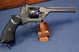 SCARCE EARLY 1942 BRITISH WW2 MILITARY ISSUE WEBLEY MARK IV .38/200 REVOLVER….MINT SHARP…..PROBABLY SOE ISSUE TO FRENCH RESISTANCE