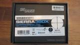 SIG SAUER SIERRA 3BDX 3.5-10X42 30mm SFP LEVELPLEX KinETHIC Black