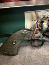 USFA .22LR .22 MAGNUM COMBINATION US FIRE ARMS REVOLVER EXCELLENT WITH BOX, P[APERS, SOCK. - 10 of 25