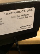 USFA .22LR .22 MAGNUM COMBINATION US FIRE ARMS REVOLVER EXCELLENT WITH BOX, P[APERS, SOCK. - 19 of 25