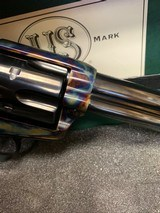 USFA .22LR .22 MAGNUM COMBINATION US FIRE ARMS REVOLVER EXCELLENT WITH BOX, P[APERS, SOCK. - 8 of 25