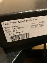 USFA .22LR .22 MAGNUM COMBINATION US FIRE ARMS REVOLVER EXCELLENT WITH BOX, P[APERS, SOCK. - 20 of 25