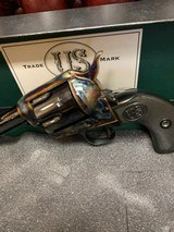 USFA .22LR .22 MAGNUM COMBINATION US FIRE ARMS REVOLVER EXCELLENT WITH BOX, P[APERS, SOCK. - 5 of 25