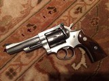 Ruger security six stainless 4 inch 357 magnum - 1 of 8