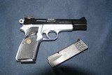 browning two tone 9mm practical hipower - 2 of 3
