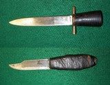 Two WWI Trench Knives Knife