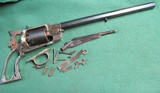 Colt Reproduction 44cal Percussion Pistol 12in barrel Parts Lot ASM Made in Italy