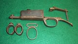 Arisaka Type 38 Japanese Rifle Parts Trigger guard, Barrel Bands, Magazine