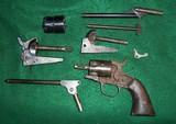 Lot Antique Percusion Pistol Parts Colt Remington