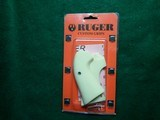 Genuine Ruger Bisley Custom Simulated Ivory Grips