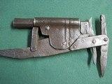 Antique Blacksmith Made 45cal Set Gun Animal Trap Trapper Gun - 2 of 13