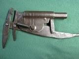 Antique Blacksmith Made 45cal Set Gun Animal Trap Trapper Gun - 9 of 13