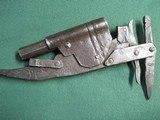 Antique Blacksmith Made 45cal Set Gun Animal Trap Trapper Gun - 5 of 13