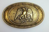 Civil War Reproduction Brass Mississippi Belt Buckle - 1 of 3