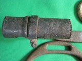 Dug Civil War Relics, Bayonet, US Box Plate, Stirrup - Perryville - 9 of 9