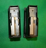Two Used Magazine for Winchester Model 100 308 or 243 Blued 4 Round Mag CLIP 100 MAG - 4 of 6