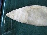 Display Large Indian Arrowhead, Knife, Axe - 3 of 3