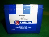 New Lapua 223 REM Match Brass 100pcs - 2 of 8