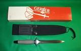 Gerber Combat Fighting Survival Knife w Sheath & Box No 5705 - 9 of 9