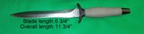 Gerber Combat Fighting Survival Knife w Sheath & Box No 5705 - 2 of 9