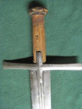 Sudanese Kaskara Sword Prior to 18th Century