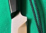 Original Unused D.H.Russel Grohmann Belt Knife + Scabbard & Sharpening Steel - 4 of 11