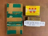 Ammo 88 Rounds 375 H & H Magnum 270 grain Bullets - 10 of 10