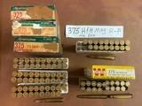 Ammo 88 Rounds 375 H & H Magnum 270 grain Bullets