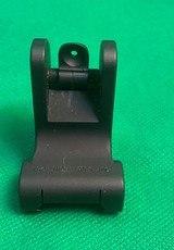 Troy Industries Detachable Fixed Rear Battle Sight AR-15 Flat-Top Aluminum - 1 of 7