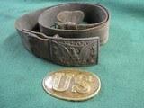 Two Relic Civil War Belt Buckles