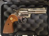 Colt Diamondback .22 Nickel