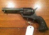 Colt SAA single action.45 with letter