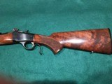 Browning Model 1885 Low Wall. .223 caliber - 8 of 8