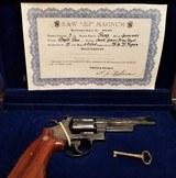 Smith & Wesson 50th Anniversary Commemorative .357 Magnum Revolver