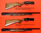 "BROWNING ""TWENTY GUN"" SERIAL #99 COLLECTION - 10 of 11"