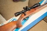 Sako Varmint, target trigger, original box, 223 Cal.Externally adjustable trigger