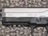 Fn FNX-45 TWO-TONE .45 ACP PISTOL - 2 of 3