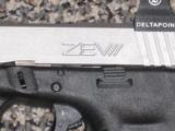 GLOCK MODEL 22 with ZEV CUSTOM SLIDE AND EOTECH DELTAPOINT SIGHT! - 2 of 5