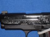 SIG SAUER P-938 ENGRAVED 9 MM PISTOL.... - 2 of 3