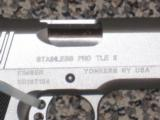 KIMBER STAINLESS PRO TLE .45 ACP PISTOL -- *****
